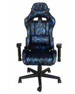 Mahmayi C905 PU Adjustable Padded Armrest With Headrest Pillow Stylish Camouflage Gaming Chair With Tilt Recliner Mechanism