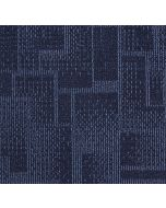 Mahmayi Brooks 100% PP Carpet Tile for Home, Office (50cm x 50cm) Per Square Meter With Free Professional Installation - Dark Blue