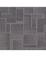 Mahmayi Brooks 100% PP Carpet Tile for Home, Office (50cm x 50cm) Per Square Meter With Free Professional Installation - Grey