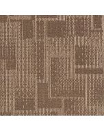 Mahmayi Brooks 100% PP Carpet Tile for Home, Office (50cm x 50cm) Per Square Meter With Free Professional Installation - Brown