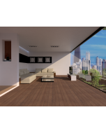 Mahmayi EPL016 Parquet Flooring for Home, Office (1291 x 327 x 8 mm) Per 2.6 Square Meter Free Professional Installation - Oak