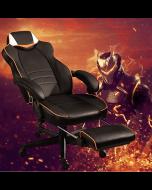 Mahmayi 459 Omega Gaming with Speaker Black & Orange PU Gaming chair
