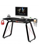 Mahmayi Ultimate GT-010 Carbon Fiber PVC & MDF Gaming Table - Black