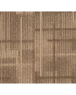 Mahmayi Whitehorse NylonWith Free Professional Installation -66 Carpet Tile for Home, Office (50cm x 50cm) Per Square Meter With Free Professional Installation - Sandal Brown