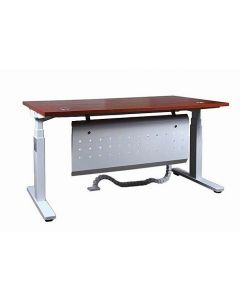 Lift-14 Electronic Height Adjustable Modern Desk Apple Cherry