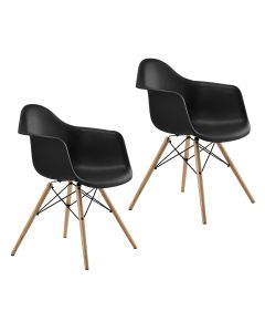 Ultimate Eames Style DAW ArmChair Pack of 2