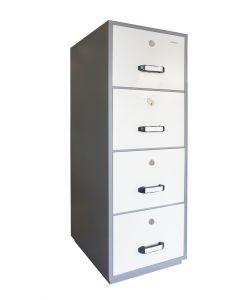 Godrej & Boyce FRFC 4 Drawer Fire Filing Cabinet 410Kgs