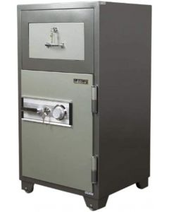 Leeco PD100 Deposit Safe with Dial and Key 270Kgs