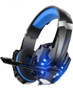 AM G9000 BLUE GAMING HEADPHONE