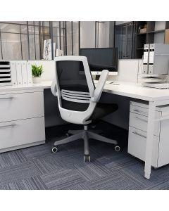 Mahmayi M76-1 Height Adjustable Ergonomic Office Chair - Black