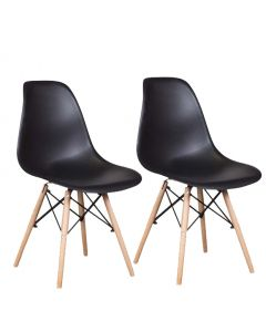 Ultimate Eames Style DSW Dining Chair Pack of 2