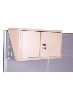 Carre 75 Oak Hanging Cabinet