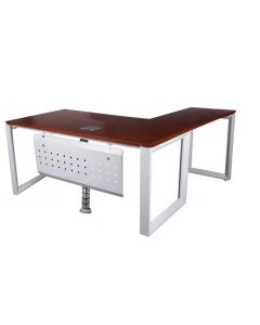 Vorm 136-18L Apple Cherry Modern Workstation without Drawer