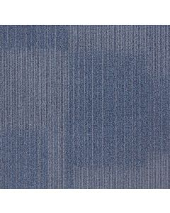 Mahmayi Edmonton 100% Invista Naylon 6 Carpet Tile for Home, Office (50cm x 50cm) Per Square Meter With Free Professional Installation - Blue