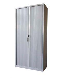 Godrej OEM Full Height Tambour Door Cabinet Grey