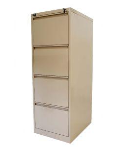 Godrej OEM 4 Drawer Steel Filing Cabinet Beige