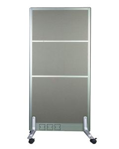 Enva GT60 160 Height Fabric 60 Width Aluminium Office Partition Panel with Wheels