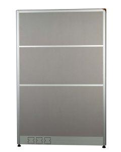 Enva GT60 160 Height Fabric 100 Width Aluminium Office Partition Panel