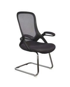 Etra 0016 Visitors Chair Black Mesh