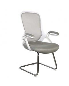 Etra 0016 Visitors Chair White Mesh