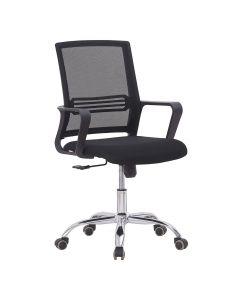Sleekline 690033 Task Chair Black Mesh
