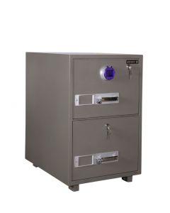 SecurePlus 680-2DK 2 Drawer Fire Filing Cabinet 163Kgs- Digital