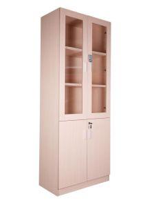 Carre 1123 Oak Full Height Bookshelf with Digital Lock