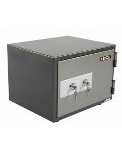 Leeco SS Fire Safe with 2 Key Locks 53Kgs