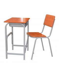 Okul 117 Gfold Student Table and Chair