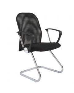 Sarah M3A Visitors Chair Black Mesh