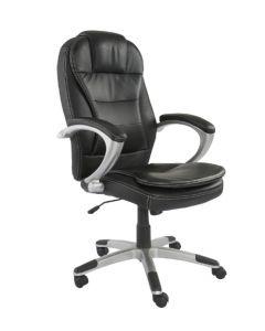 Tracy 2201 Executive High Back Chair Black PU