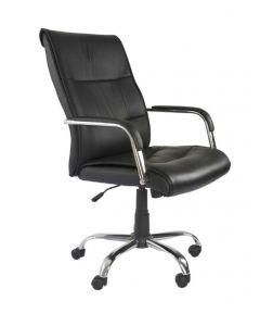 Nova 2203 PU leather High Back Executive Office Chair - Black