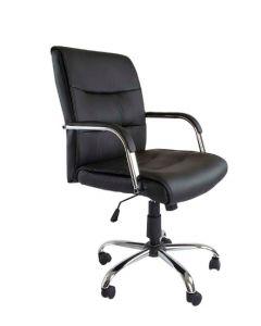 Nova 2203 Executive Low Back Chair Black PU