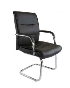 Nova 2203 Visitors Chair Black PU
