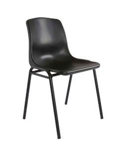 Cosmo D024A Stackable Chair Black