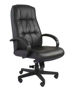 Atvor 708 Executive High Back Chair Black Leather