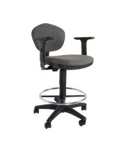 Sandra 1210ADK Task Chair Grey