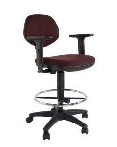 Sandra 1210ADK Task Chair Peat