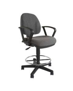 Debra 1380ADK Task Chair Grey