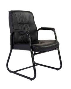 Atvor 515-2 Executive Visitors Chair Black Leather