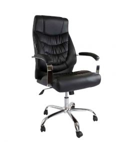 Cathy L111H Executive High Back Chair Black PU