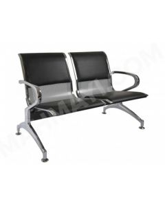 Cosmos JX 2 Seater Metal Bench with cushion