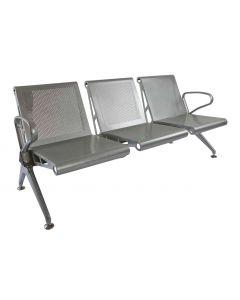 Banco HF 3 Seater Metal Bench