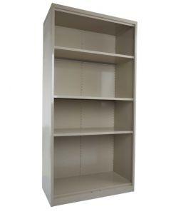 Godrej OEM Open Steel Bookcase Beige