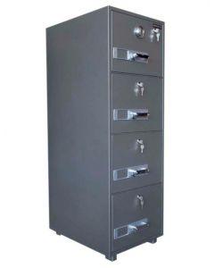SecurePlus 680-4DK 4 Drawer Fire Filing Cabinet 300Kgs