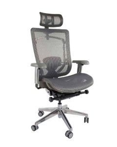 Silla 97729 High Back Ergonomic Mesh Chair Grey