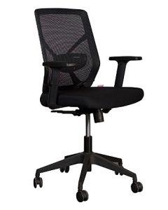 Sleekline 1651A Low Back Chair Black Mesh