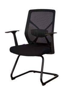 Sleekline 1651C Visitors Chair Black Mesh