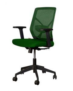 Sleekline 1651A Low Back Chair Green Mesh