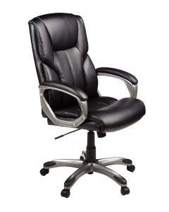 Ultimate AM Basics Modern Highback Executive Ergonomic Chair with Leatherite PU